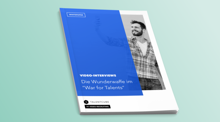 "Whitepaper: Video interviews – The wonder weapon in the ""War for Talents"""
