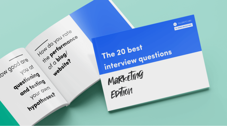 Questionnaire: The 20 best interview questions – Marketing edition