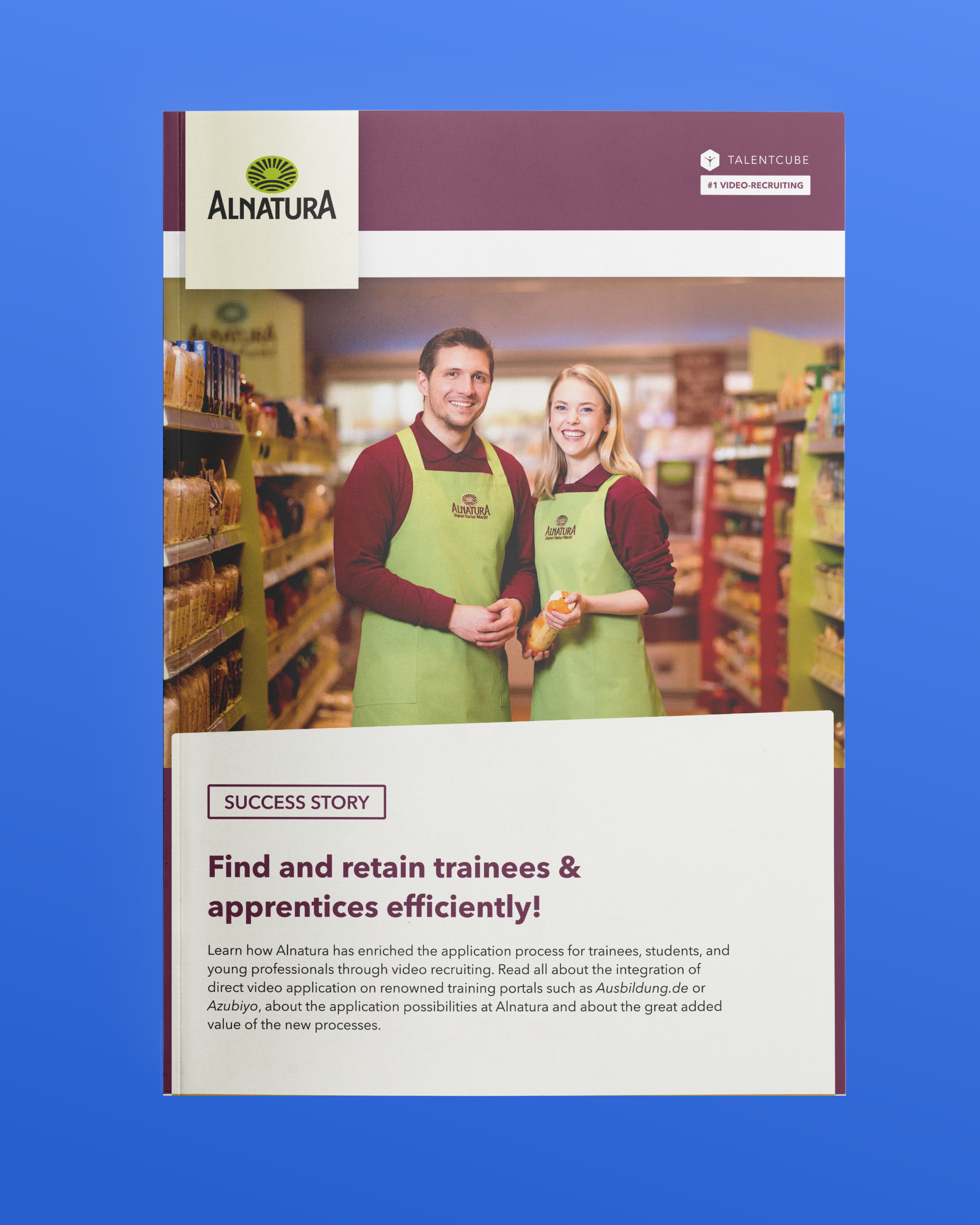 Alnatura – Find and retain trainees & 