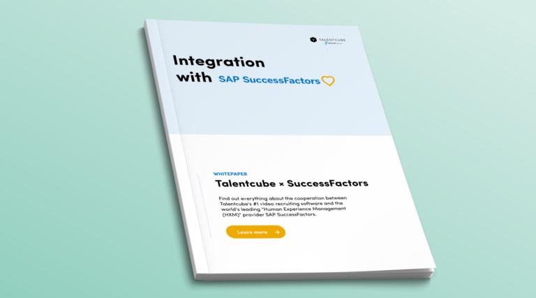ATS integration: Talentcube X SAP SuccessFactors